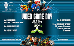 Video Game Day at the Frida Cinema