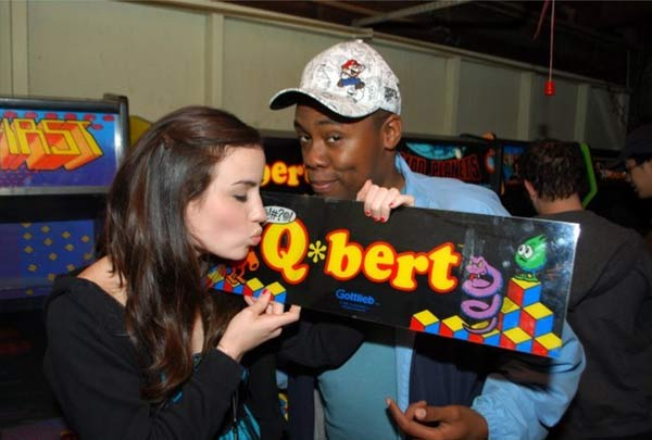 Coin-Op.tv's Hailey Bright really loves Q*bert