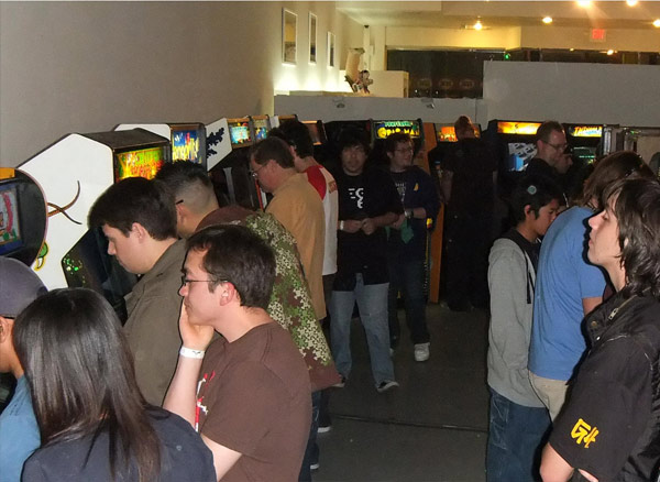 The far wall of the arcade held classic favorites such as BurgerTime and Centipede, plus obscurer titles like Quantum and Pepper II