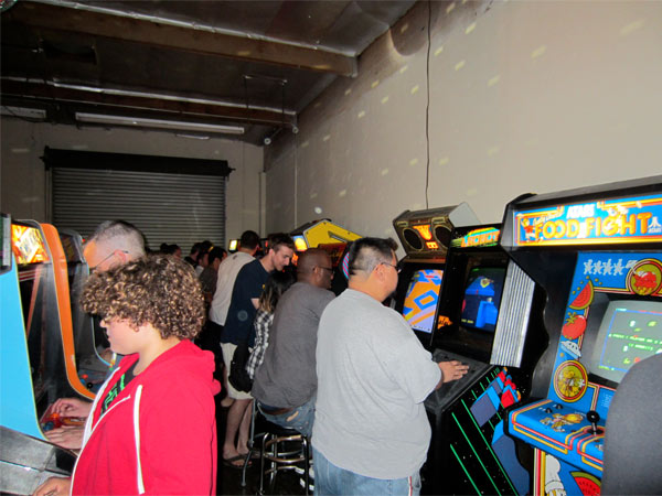 The Last Arcade had some great titles not seen at SC3 before, including I, Robot and 720°