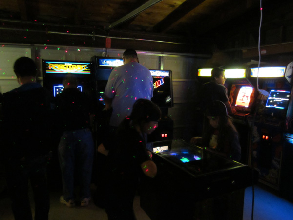 The garage arcade: ever-popular home of Warlords